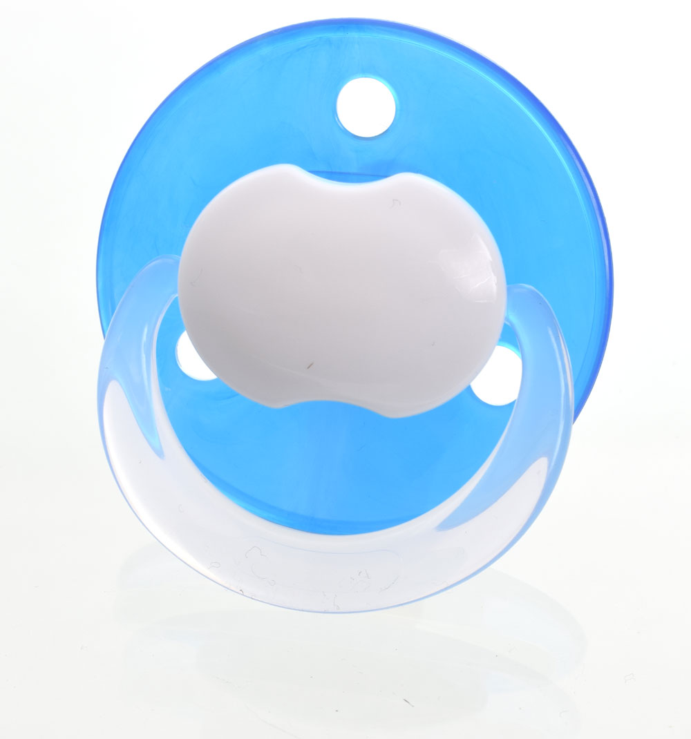 Baby-Nova MyPacifiers, round, latex, one size