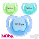 Nûby Teardrop, orthodontic, silicone size 1