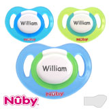 Nûby Classic MyPacifiers, orthodontic, silicone, size 1