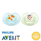 Philips Avent Classic, symmetrical, silicone size 1 (turquoise, green)