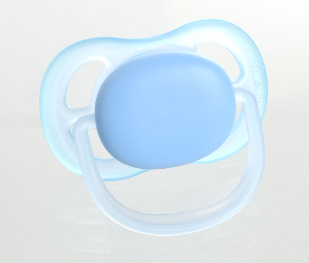 Philips Avent Ultra Air MyPacifiers, symmetrical, silicone, size 1