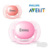 Philips Avent Ultra Soft, symmetrical, silicone size 1