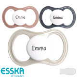 Esska Happy pacifiers, symmetrical, silicone size 2