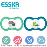 Esska Happy symmetrical, silicone, size 2
