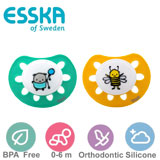 Esska Classic, orthodontic, silicone, size 1