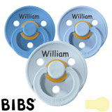 BIBS Colour MyPacifiers, round, latex, size 1