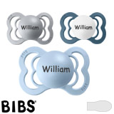 BIBS Supreme MyPacifiers, symmetrical, silicone, size 1