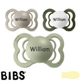 BIBS Supreme MyPacifiers, symmetrical, latex, size 1