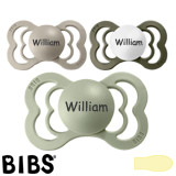 BIBS Supreme MyPacifiers, symmetrical, latex, size 2