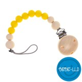 Bebe-llo Pacifier Chain, silicone, Lemon