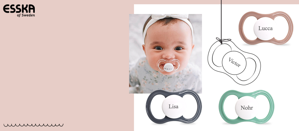 Our popular Esska Happy MyPacifiers