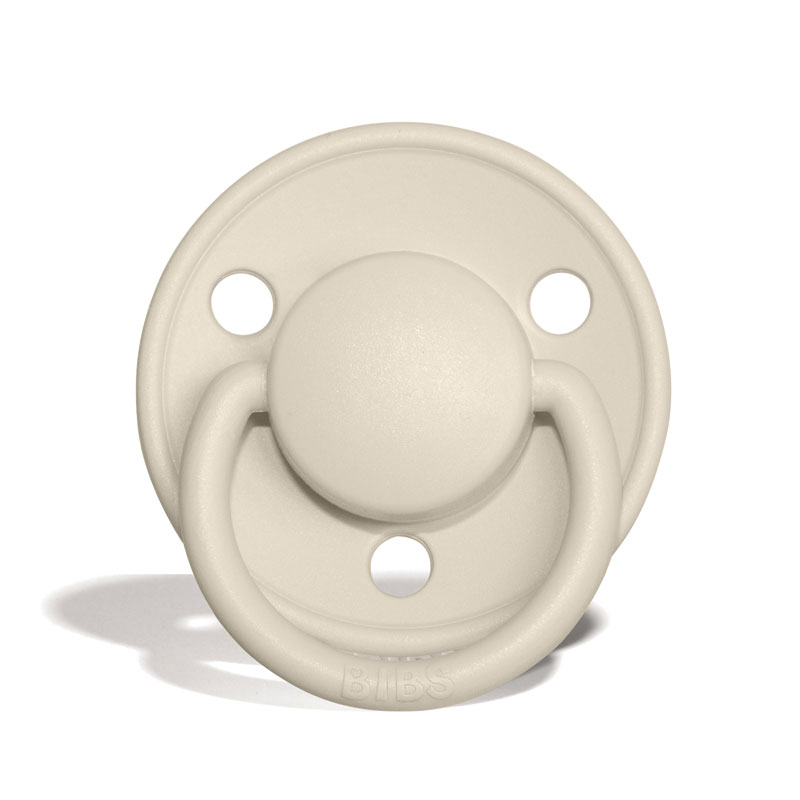 BIBS De Lux MyPacifiers, round, latex, size 1