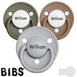 BIBS De Lux MyPacifiers, round, silicone, one size