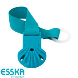 Esska Click pacifier holder, turquoise