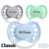 Classic, symmetrical, silicone size 1