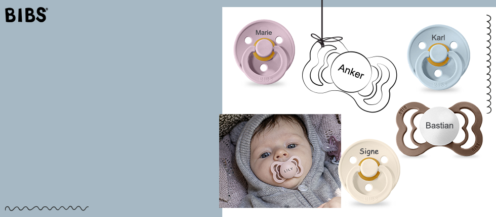 MyPacifiers from BIBS - Colour, Supreme, De Lux and Couture