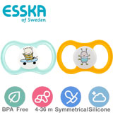 Esska Happy, symmetrical, silicone, size 2