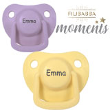 Filibabba Moments MyPacifiers, symmetrical, silicone, size 1